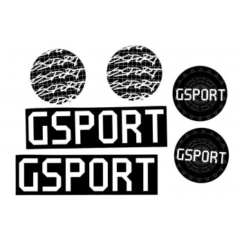 PACK STICKERS GSPORT