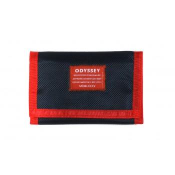 PORTE FEUILLE ODYSSEY VAGABOND NAVY / RED