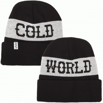 BONNET CULT COLD WORLD BLACK/WHITE