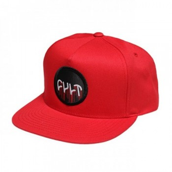 CASQUETTE CULT CIRCLE DRIP SNAP BACK RED
