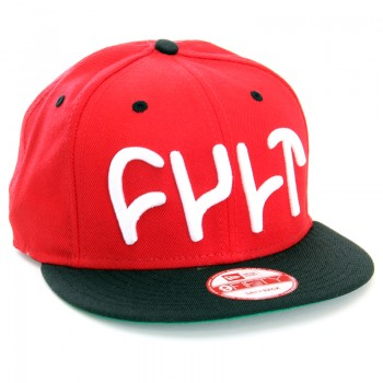 CASQUETTE CULT SNAP BACK NEW ERA RED