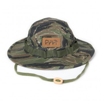 BOB CULT LEATHER PATCH CAMO