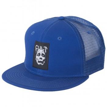 CASQUETTE CULT FACE LOGO MESH BLUE