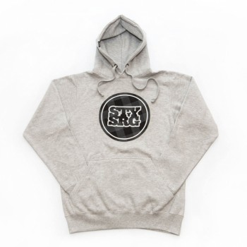 STAY STRONG LUMBERPLAID GREY HOODY