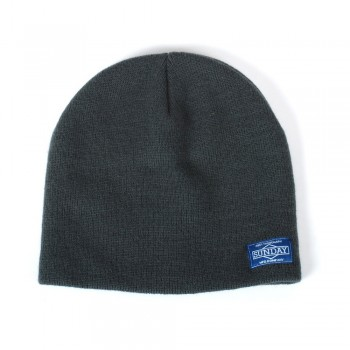 SUNDAY SKULLY GREY BEANIE