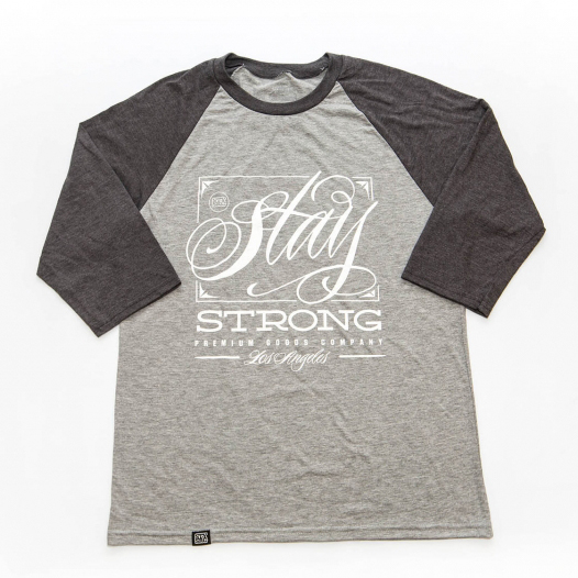STAY STRONG OV V2 BLACK TSHIRT