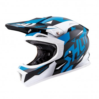 CASQUE SHOT FURIOUS SPLINTER BLUE