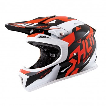 CASQUE SHOT FURIOUS SPLINTER RED