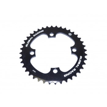 GLOBAL RACING ROCKET V2 4 PT SPROCKET BLACK