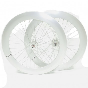 PAIRE DE ROUES BERETTA FIXIE 70MM POLISHED