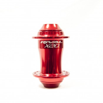 PRIDE X20 RED FRONT HUB