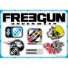 PLANCHE DE STICKERS SHOT FREEGUN CAMO