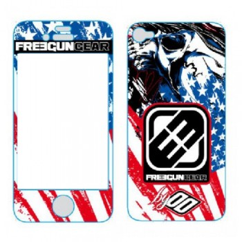 STICKERS POUR IPHONE 5 SHOT FREEGUN US