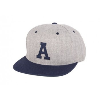 CASQUETTE ANIMAL A SNAPBACK GREY NAVY
