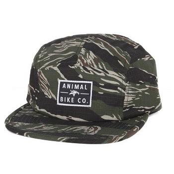 ANIMAL 5PANEL JOCKEY CAPS BLACK