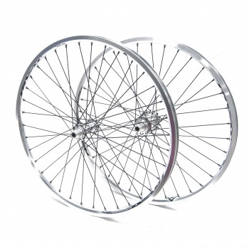 PAIRE DE ROUES PRIDE RACING RIVAL PRO SX HIGH HIGH POLISHED