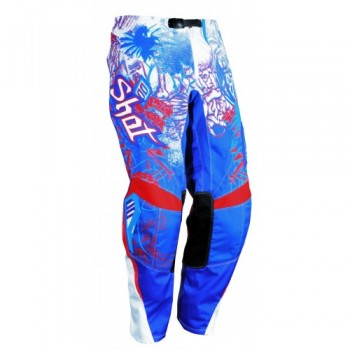 PANTALON SHOT CONTACT 12 OLD SCHOOL BLUE/RED