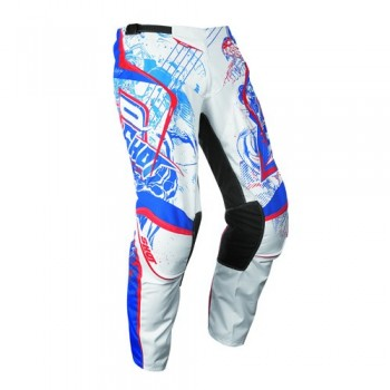 PANTALON SHOT CONTACT 13 LORD WHITE/BLUE/RED