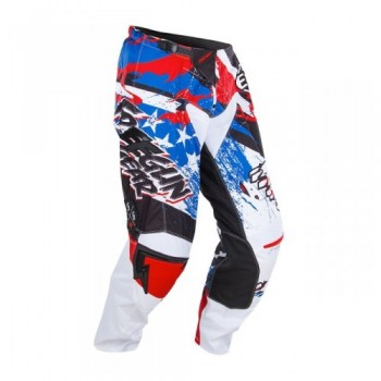 PANTALON SHOT FREEGUN CONTACT 15 US RED/BLUE