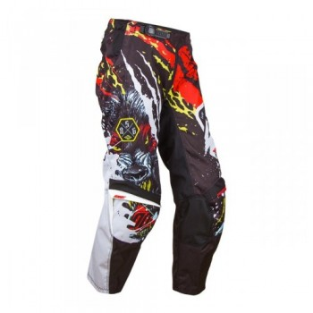 PANTALON SHOT DEVO 15 FREEGUN KID BEAST RED