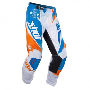 PANTALON SHOT FLEXOR 15 MAROON BLUE/ORANGE