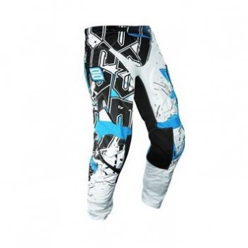 PANTALON SHOT FLEXOR 13 IMPACT WHITE/BLUE