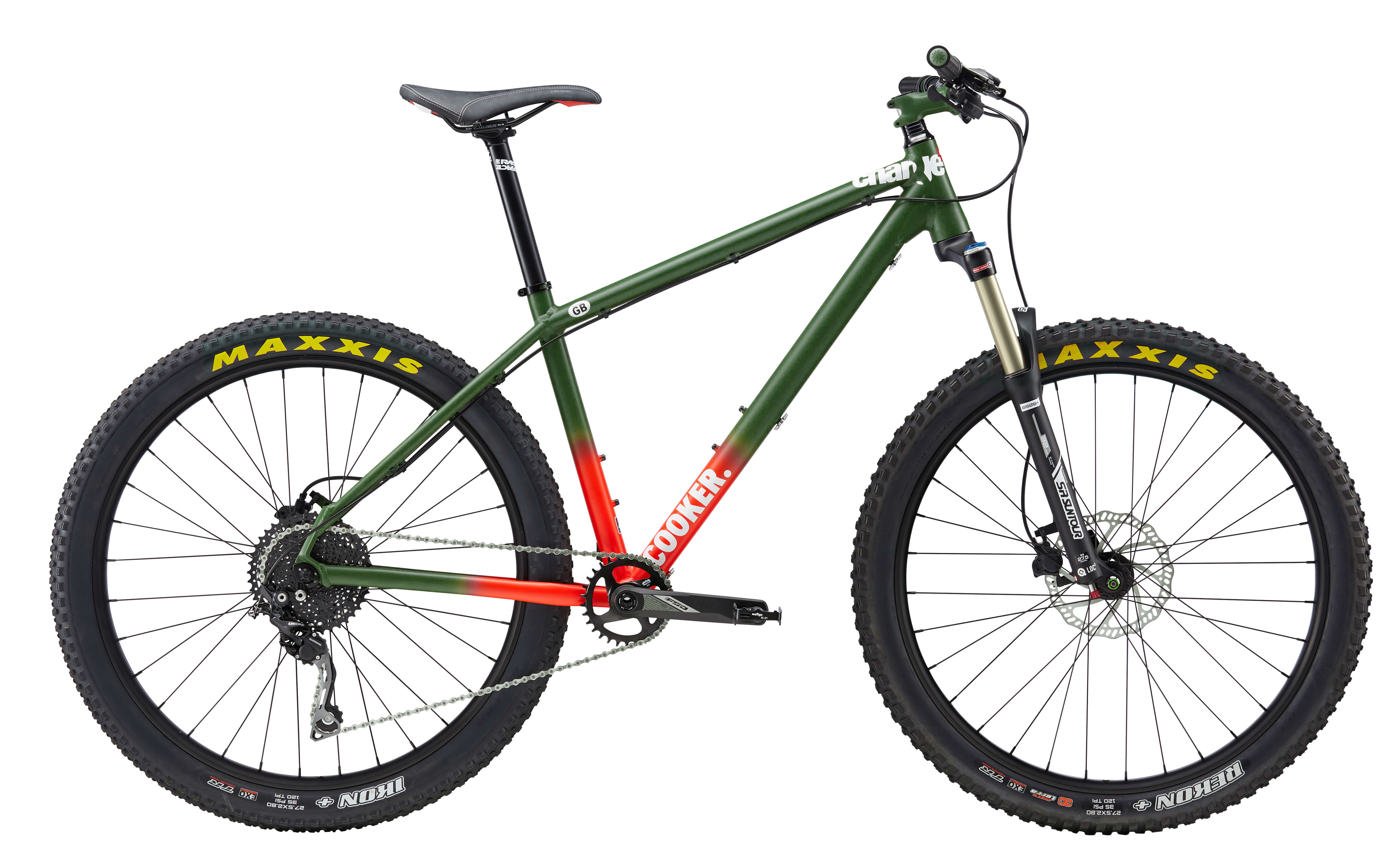 CHARGE COOKER 2 2017 - SATIN GREEN FADE