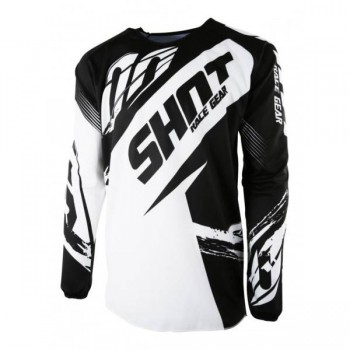 SHOT DEVO KID FAST BLACK JERSEY
