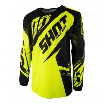 SHOT DEVO KID FAST NEON YELLOW JERSEY