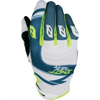 SHOT CONTACT CLAW TEAL BLUE/NEON YELLOW GLOVES