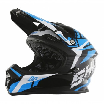 CASQUE SHOT FURIOUS SQUAD BLUE