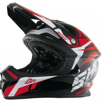 CASQUE SHOT FURIOUS SQUAD RED