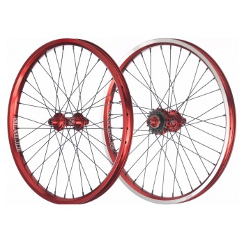 PAIRE DE ROUES STAY STRONG EVOLUTION RED
