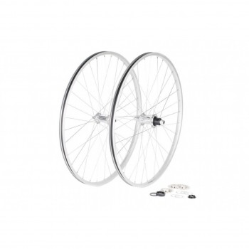 PAIRE DE ROUES BOMBTRACK ARISE 28'' POLISHED