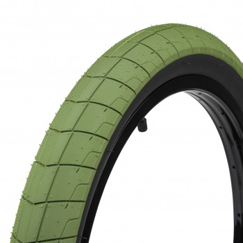 ECLAT FIREBALL TIRE GREEN / BLACK SIDE