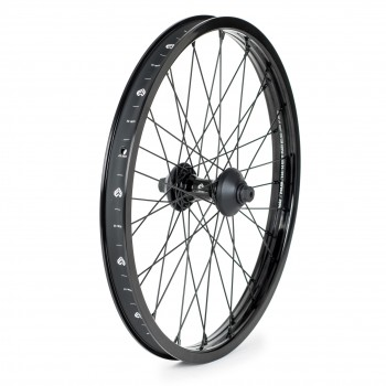 ROUE AVANT ECLAT POLAR STRAIGHT / CORTEX + 2 GUARD NYLON BLACK