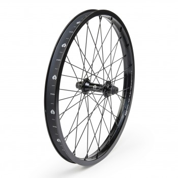 ECLAT TRIPPIN STRAIGHT / PULSE FRONT WHEEL BLACK