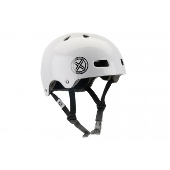 CASQUE FUSE DELTA-SCOPE GLOSSY WHITE