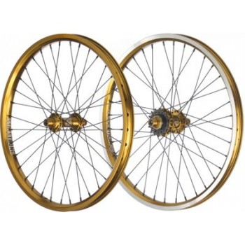 PAIRE DE ROUES STAY STRONG EVOLUTION GOLD