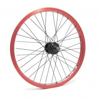 WHEEL ALIENATION RUNAWAY RED / HUB RHD 9T BLACK