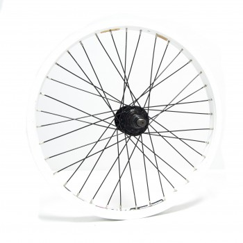 WHEEL ALIENATION RUNAWAY WHITE / HUB RHD 9T BLACK