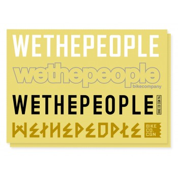 STICKERS WETHEPEOPLE 4BIG