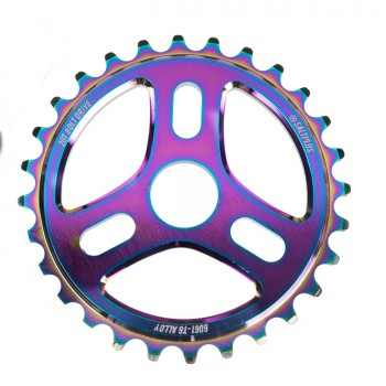 SALTPLUS TRIDENT SPROCKET BLACK / GREEN ACID DRIP