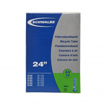 "CHAMBRE A AIR SCHWALBE - 24"" - SCHRADER - BOITE"