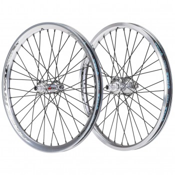 PAIRE DE ROUES PRIDE RACING RIVAL PRO SX HIGH POLISHED