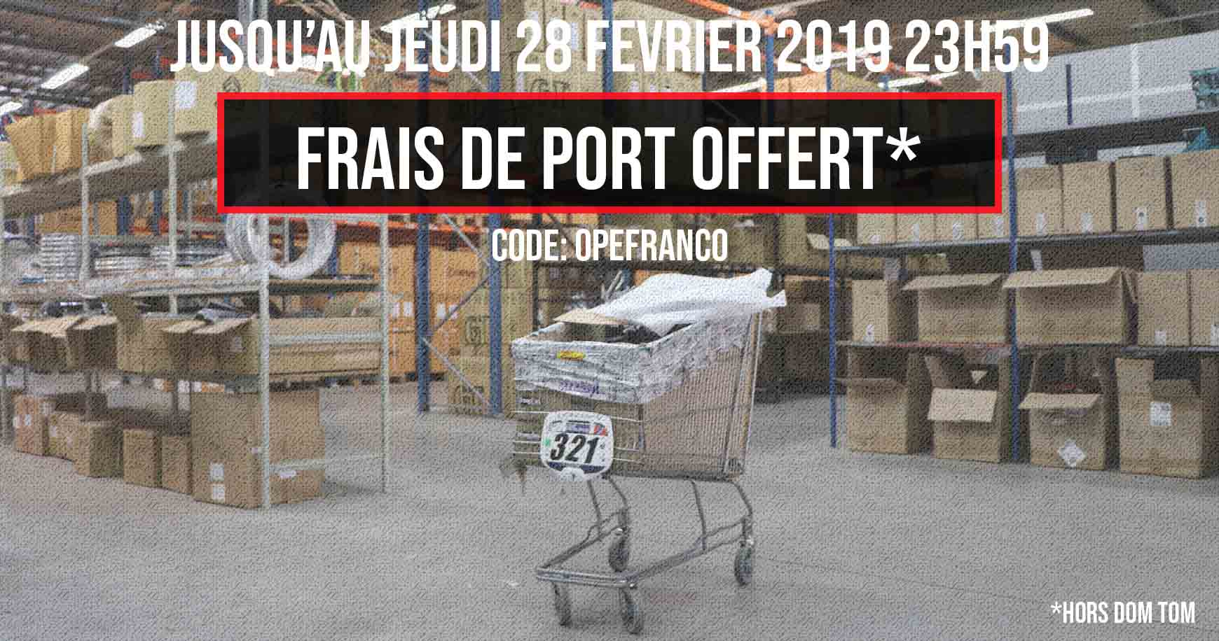 Frais de port offert frenchys distribution - Lamaloli frais de port offert ...
